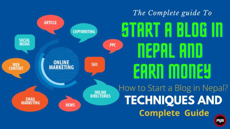 How to Start a Blog in Nepal and Make Money Online